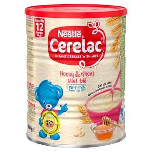 Cerelac Honey and Wheat with Milk 400g