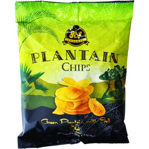 Olu Olu Plantain Chips Green