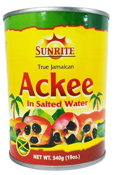 Sunrite Ackee In Salted Water 540G