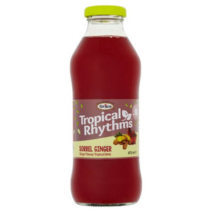 Tropical Rhythms Sorrel Ginger - 3 x 475ml