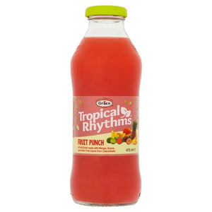 Tropical Rhythms Fruit Punch - 3 x 475ml