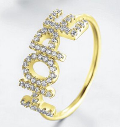 Bague Argent HOPE and Glory