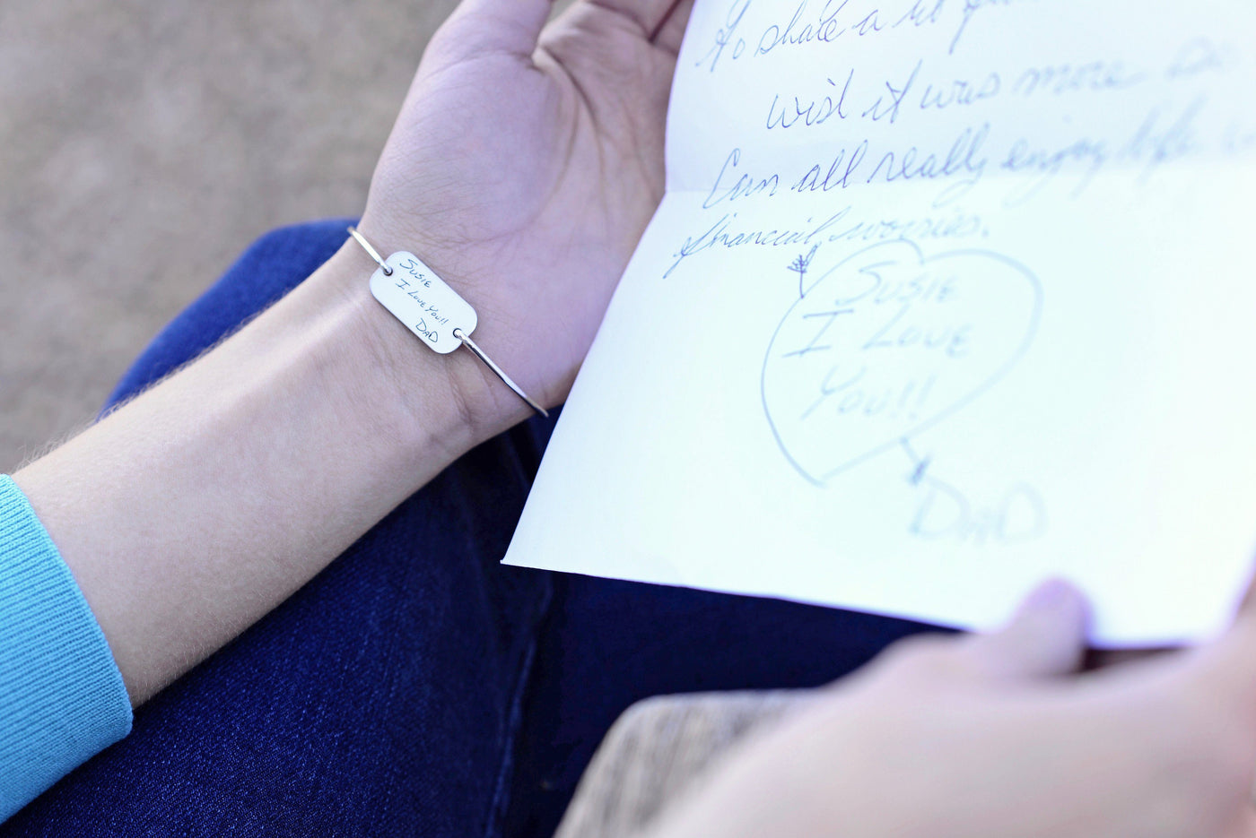 Personalized Handwriting Jewelry