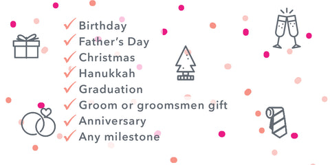 List of gift-giving occasions - we have something for everyone on your list!