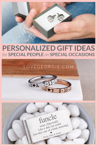 Pin it! PERSONALIZED GIFT IDEAS FOR SPECIAL PEOPLE ON SPECIAL OCCASIONS