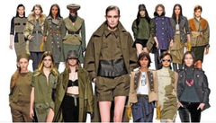 military chic fashion style - from Pinterest