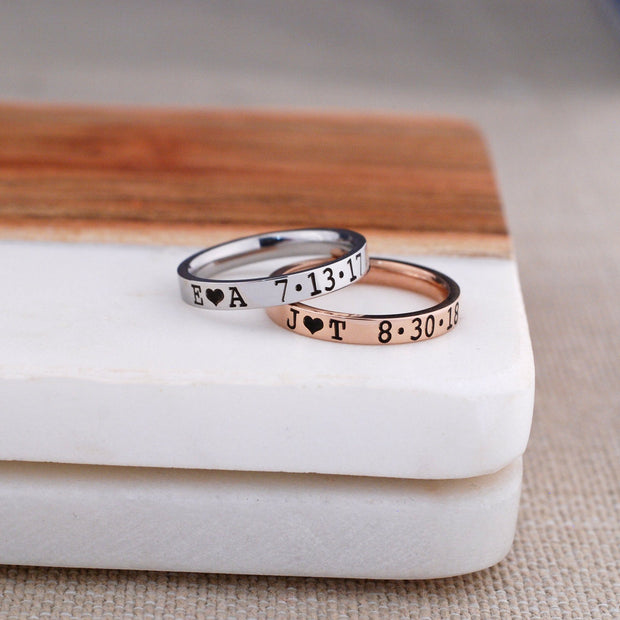 Anniversary Ring - 3mm – Ring – Love, Georgie