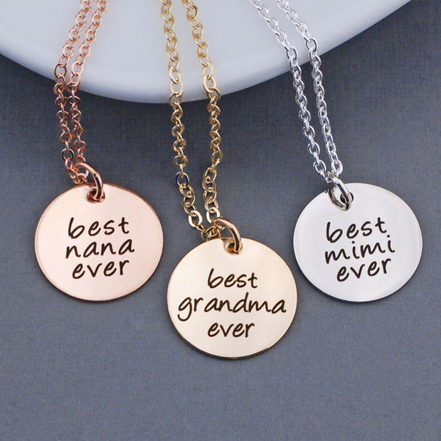 Best Ever Necklace – Necklace – Love, Georgie