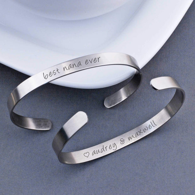 Best Ever Cuff Bracelet – bracelet – Love, Georgie