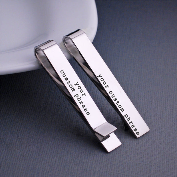 Design Your Own Tie Clip – tie clip – Love, Georgie