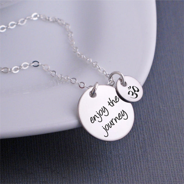 Enjoy the Journey Necklace – Necklace – georgiedesigns