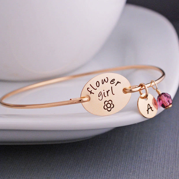 Flower Girl Bracelet – bracelet – Love, Georgie