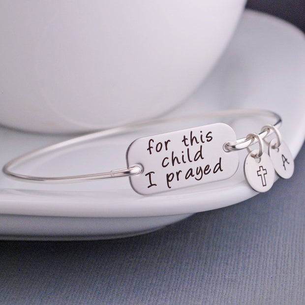 For this Child I Prayed Bracelet – bracelet – Love, Georgie