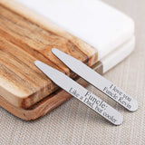 Collar Stays - Personalized Funcle