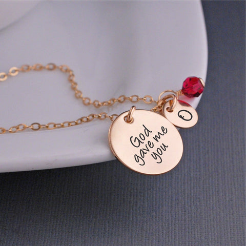 God Gave Me You Necklace