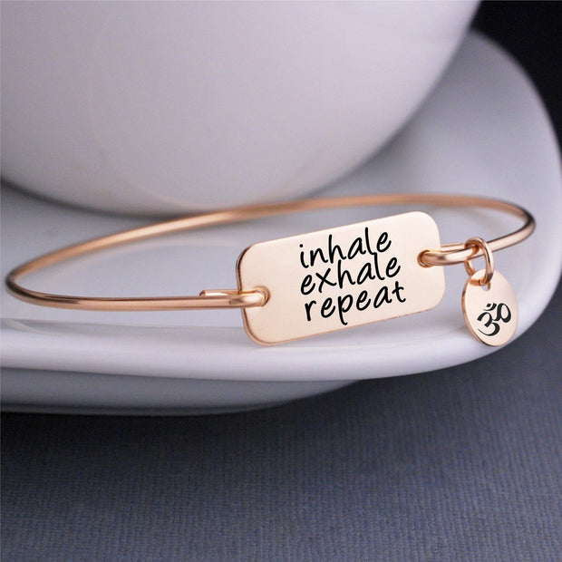 Inhale Exhale Repeat Bracelet – bracelet – Love, Georgie