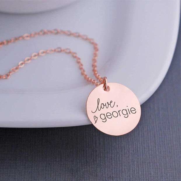 Corporate Logo Necklace