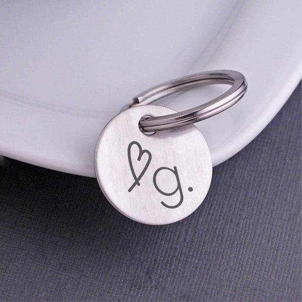 Corporate Logo Keychain – Keychain – Love, Georgie