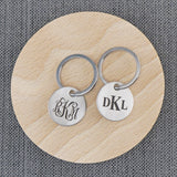 Custom Monogram Keychain