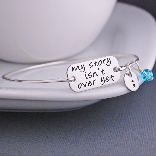 My Story Isn't Over Yet Bracelet – bracelet – Love, Georgie