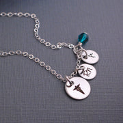 Caduceus Necklace – Necklace – georgiedesigns