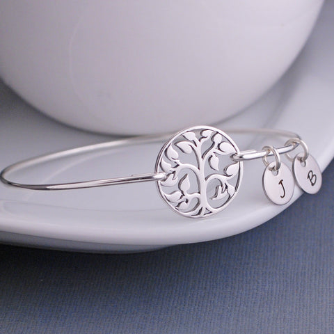 tree of life bracelet with charms