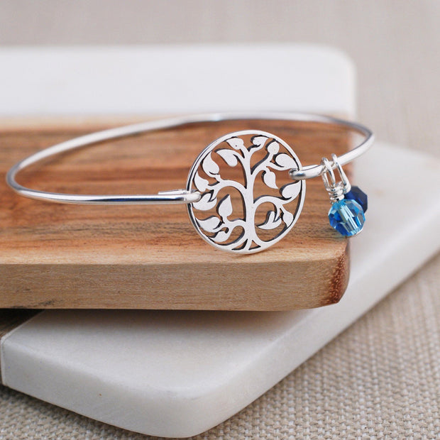 Tree of Life Bangle Bracelet – bracelet – Love, Georgie