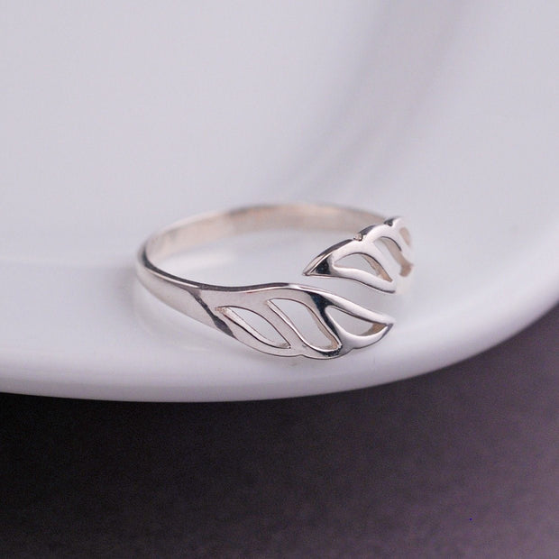 Wing Adjustable Ring – Ring – georgie designs personalized jewelry