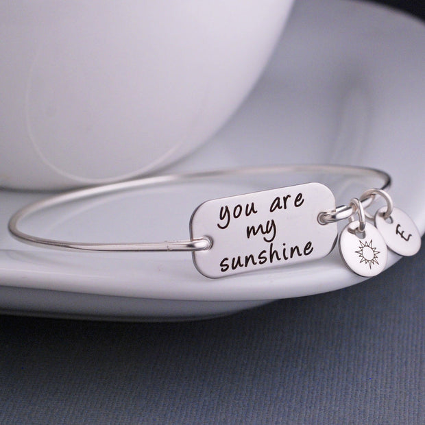 You Are My Sunshine Bracelet – bracelet – Love, Georgie