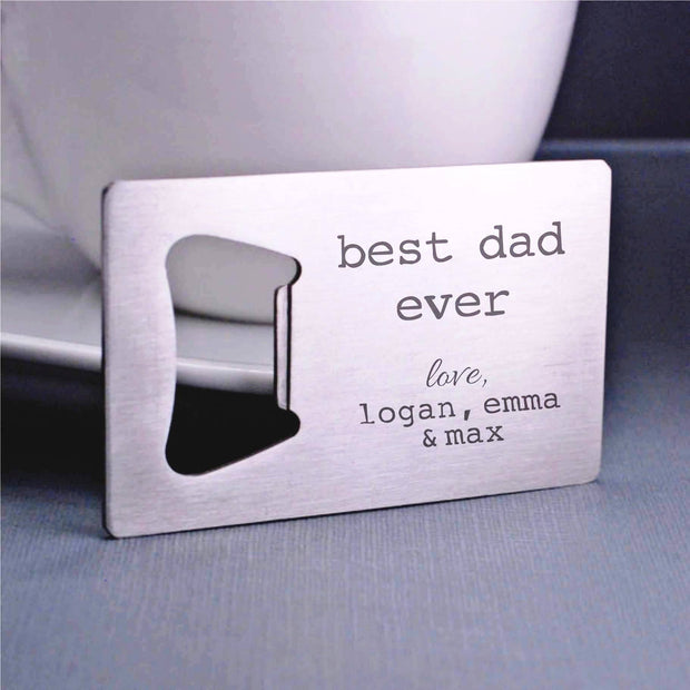Custom Bottle Opener For Dad – Bottle Opener – Love, Georgie