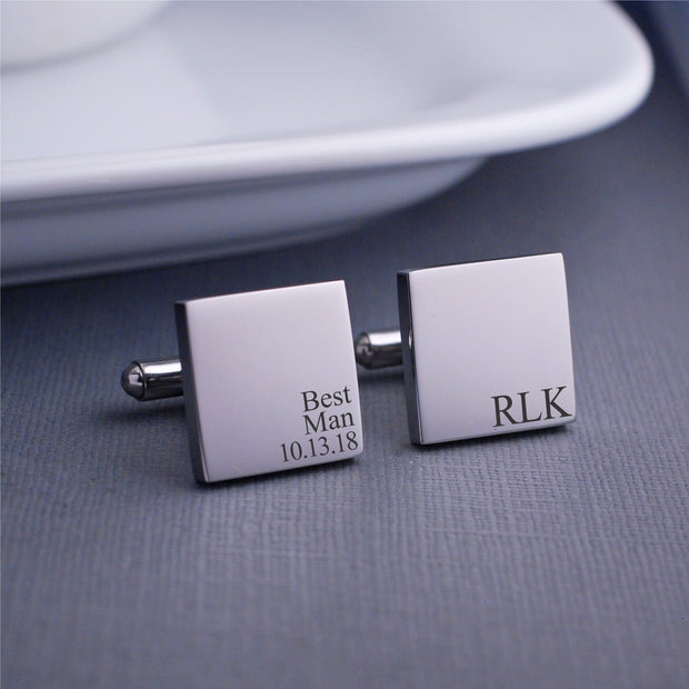 Best Man Cufflinks – Cuff Links – Love, Georgie