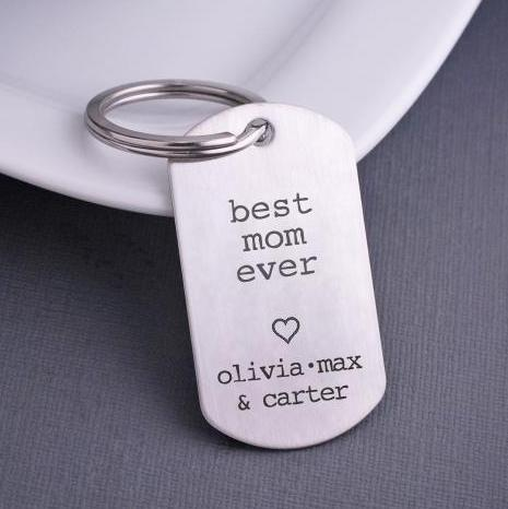 Best Mom Ever Keychain – Keychain – Love, Georgie
