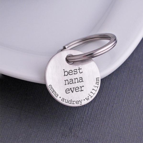 Custom Keychain For Nana – Keychain – Love, Georgie