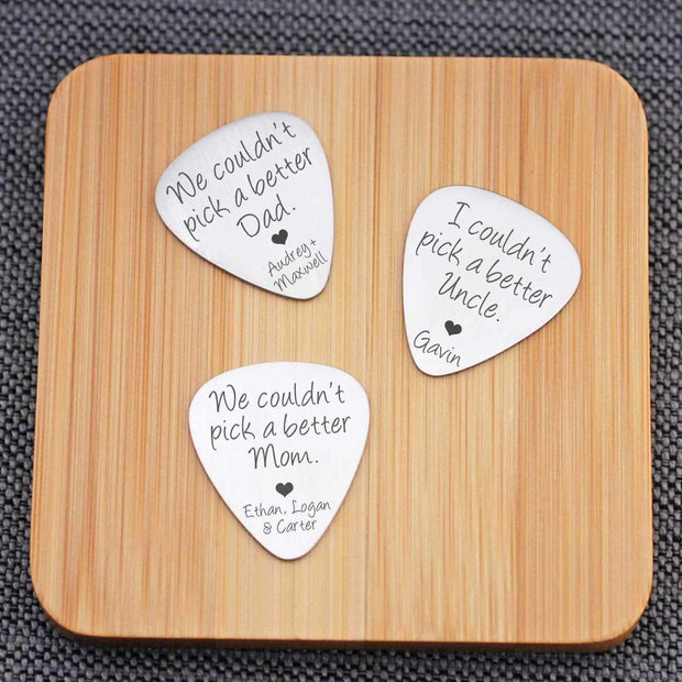 Guitar Pick - Couldn't Pick a Better Person – guitar pick – Love Georgie