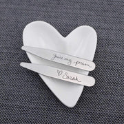 Handwriting Collar Stays – Collar Stays – Love, Georgie