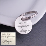 Personalized Keychains with Custom Handwriting – Keychain – Love, Georgie
