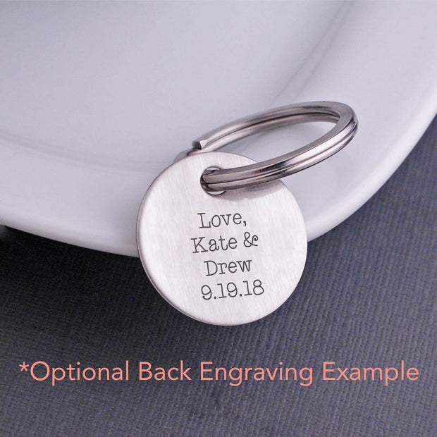 Personalized Sweet 16 Keychain – Keychain – Love, Georgie