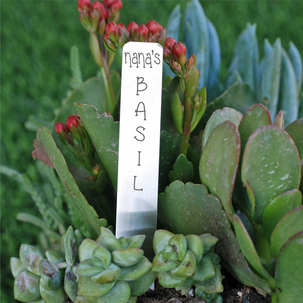 Custom Vegetable Garden Marker