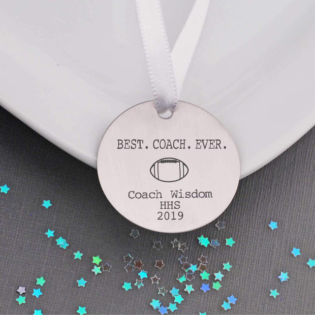 Tree Ornament - Best Coach Ever – Ornament – Love, Georgie