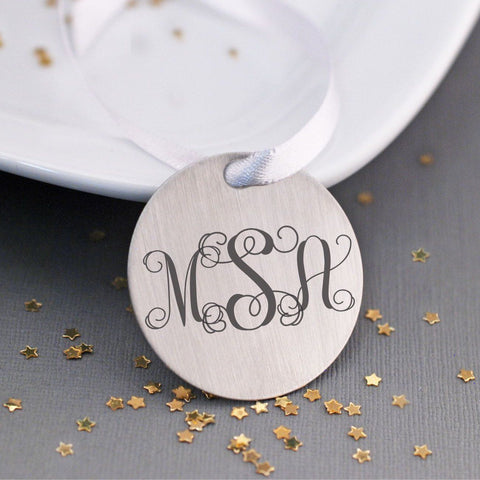 Tree Ornament - Monogram