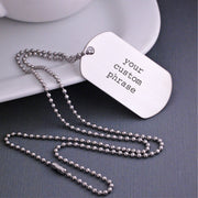 Design Your Own Dog Tag Necklace
