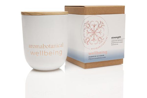 Aromatherapy 375g Candle-Strength