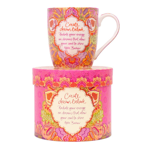 Create Dream Believe Mug