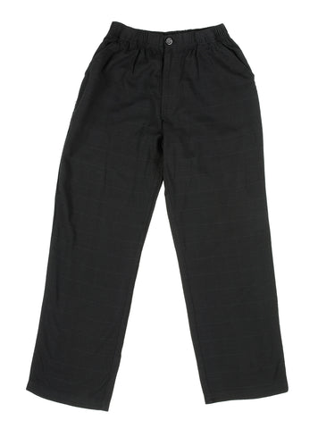 MEN'S BAMBOO BEACH PANT-BLACK