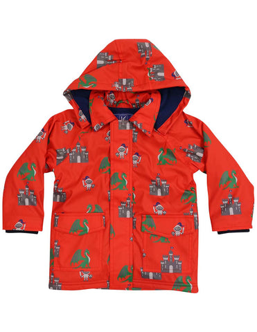 Korango Kids Raincoat-Red Dragon