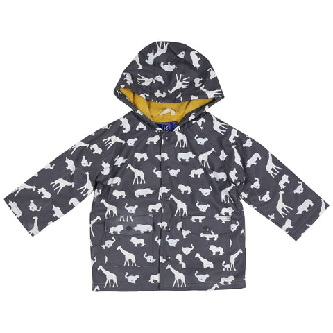 Korango Kids Raincoat-Safari-Colour Changing