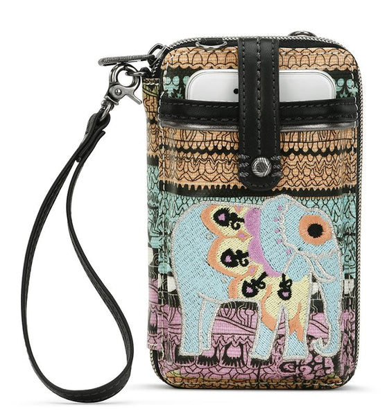 Sakroots Artist Circle Smartphone Crossbody - Purse Sherbet One World