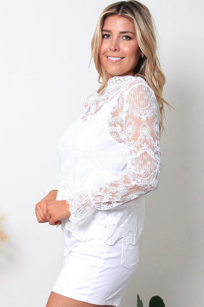 Stevie Lace Top
