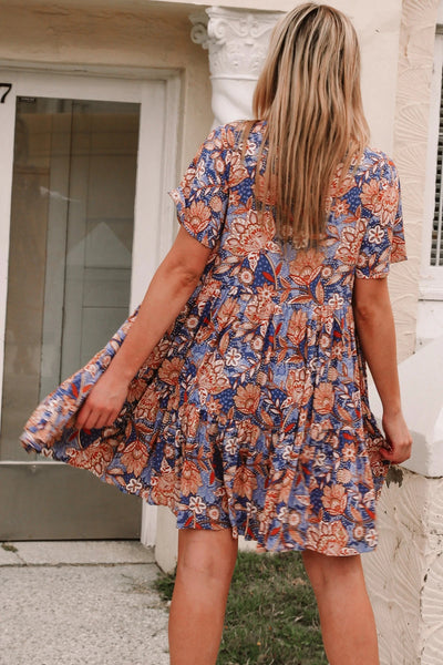 Baylee Short Sleeves Mini Dress