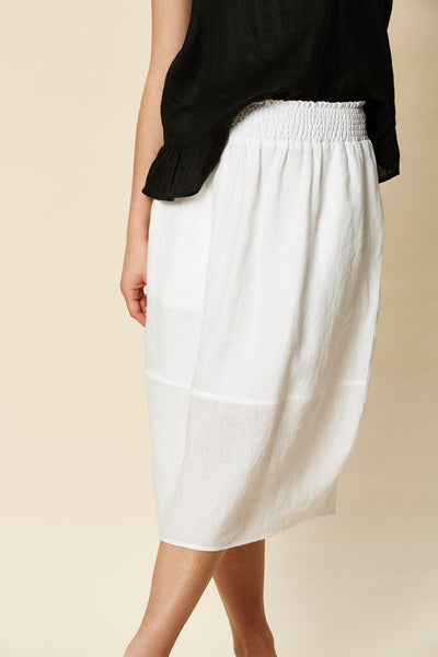 TRIBU SKIRT - WHITE NAVAJO